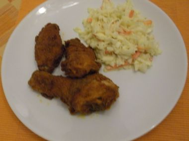 Coleslaw a kuře jako z KFC