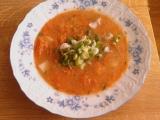 Mrkvová polévka s jarní cibulkou recept
