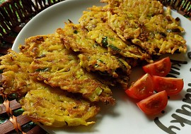 Placičky z brambor, celeru a pórku recept