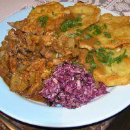 Masové nudličky na wok pánvi recept