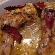 Pečené kuřecí stehno recept