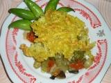Těstoviny zapečené se zeleninou recept