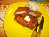 Tyrolský řízek s anglickou slaninou recept