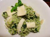 Avokádovo-špenátová omáčka na těstoviny recept