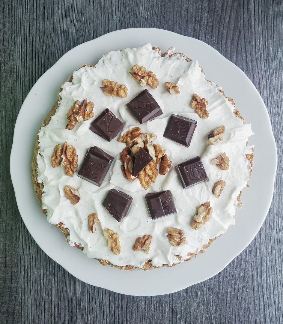 Mrkvový dortík s tvarohovou polevou recept