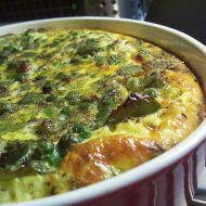 Zeleninový nákyp s bramborovou kaší recept