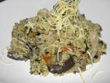 Kuskus na houbách a zelenině recept