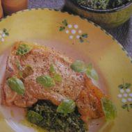 Telecí s omáčkou salsa verde recept
