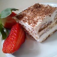 Tvarohovo-kávový dezert s piškoty recept