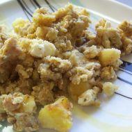Rychlé brambory s vejcem recept