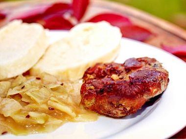 Recept Hovězí maso dušené v zelí