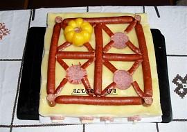 Slaný dort  sporák recept