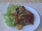 Tuniské kuře z Jižních Čech. recept