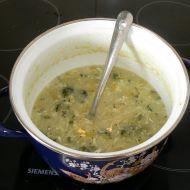 Pórková polévka s brokolicí recept