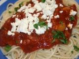 Omacka na spagety recept