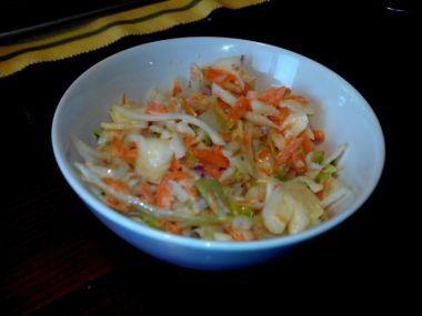 Zelný salát coleslaw podle Hanky Michopulu