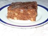 Jablkové řezy s kakaem recept
