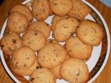 Sušenky s čokoládou a ořechy recept