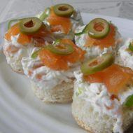 Chuťovky s uzeným lososem recept