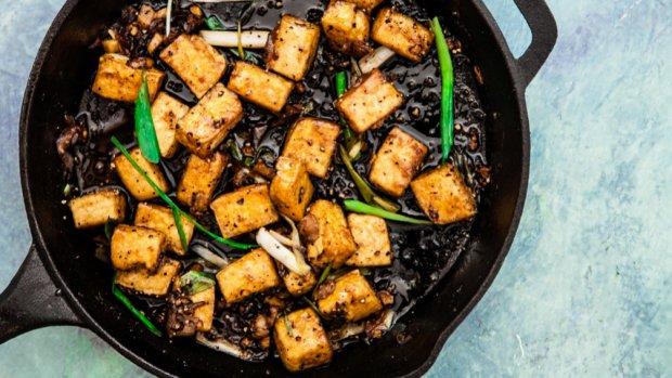 Tofu s černým pepřem