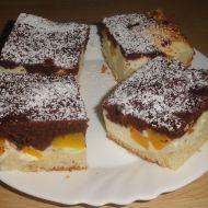 Buchta s tvarohem a broskví recept