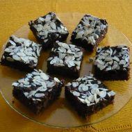 Šalamounův koláč s mandlovými lupínky recept