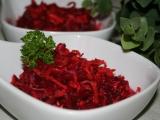 Salát z červené řepy s křenem recept