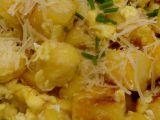 Knedlík s vejci a parmezánem recept