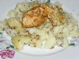 Zapečené kuřecí maso se šunkou recept