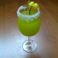 Ananasový zelený koktejl recept