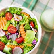 Obědový zeleninový salát recept