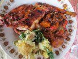 Grilovaný králík marinovaný švestkovou omáčkou recept ...