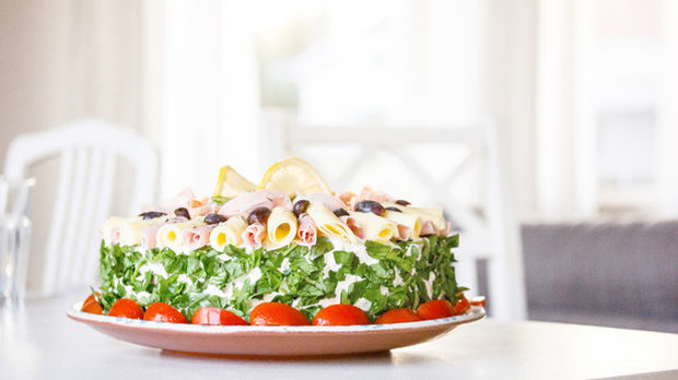 Švédský slaný dort