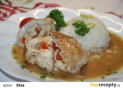 Kuřecí s rajčaty recept