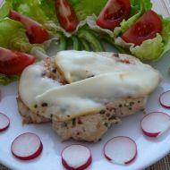 Kuřecí steak s uzeným sýrem recept