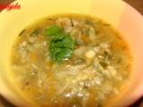 Kapustovo-zeleninová polévka recept