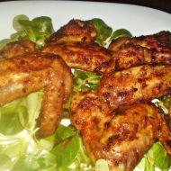 Pikantní marinovaná kuřecí křidélka recept