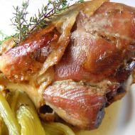 Krůtí paličky se slaninou na tymiánu recept