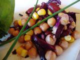 Salát z cizrny a fazolí recept