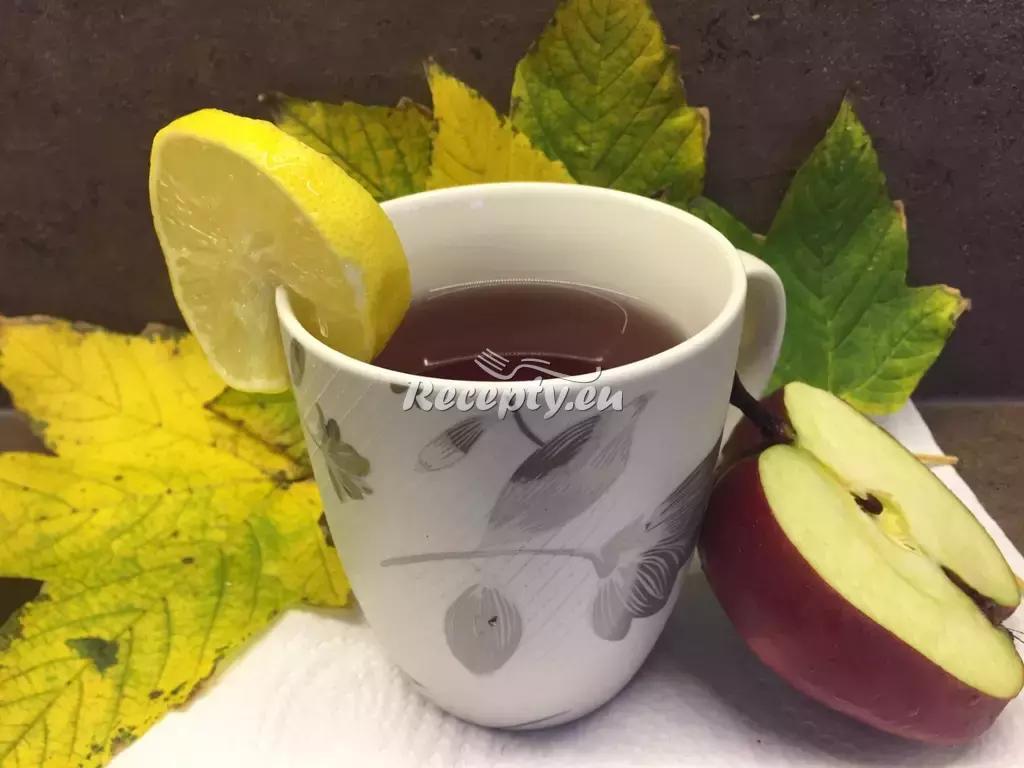 Horké jablko recept  teplé nápoje