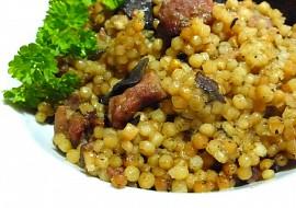 Tarhoňa s uzeným masem a sušenými houbami recept ...