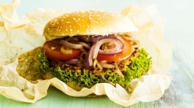 Květákový burger