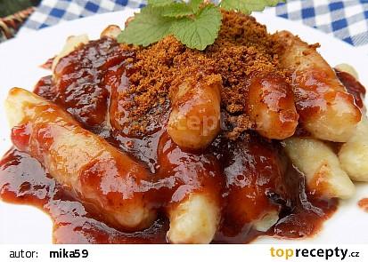 Slezské bramborové válečky s povidlovou omáčkou recept ...