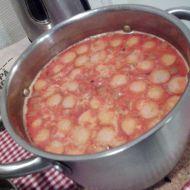 Fazolová polévka s uzeninou recept