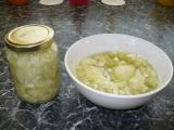 Vánoční okurkový salát recept