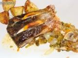 Kapr na zeleninovém lůžku recept
