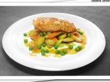 Losos s medovou zeleninou recept