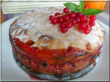 Ovocný koláč na ruský způsob recept