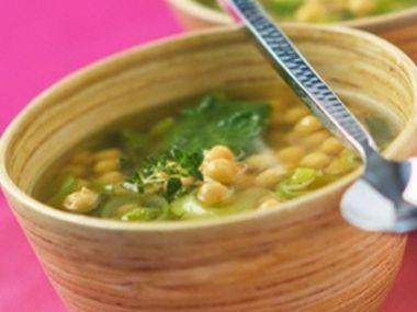 Čínská vepřová polévka