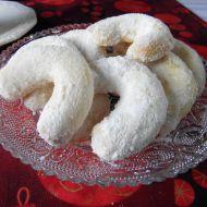 Vanilkové rohlíčky z loupaných mandlí recept